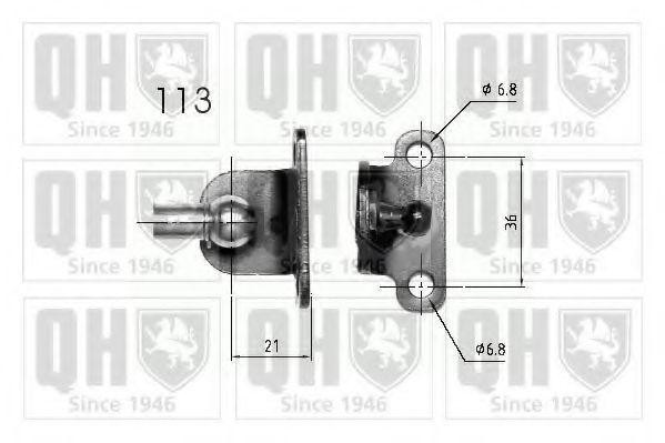 Газовая пружина, крышка багажник QUINTON HAZELL QTS840246