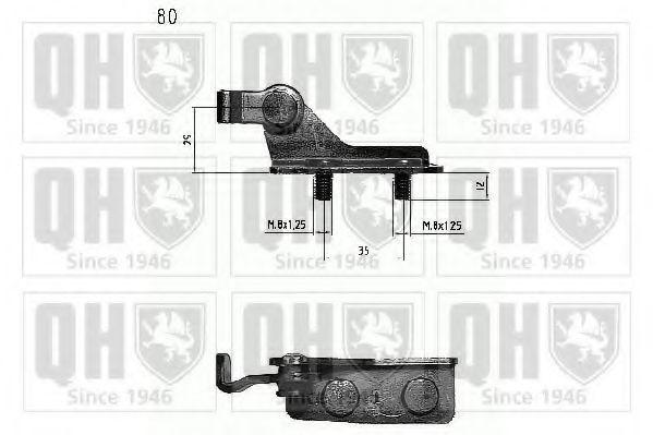 Газовая пружина, крышка багажник QUINTON HAZELL QTS840212