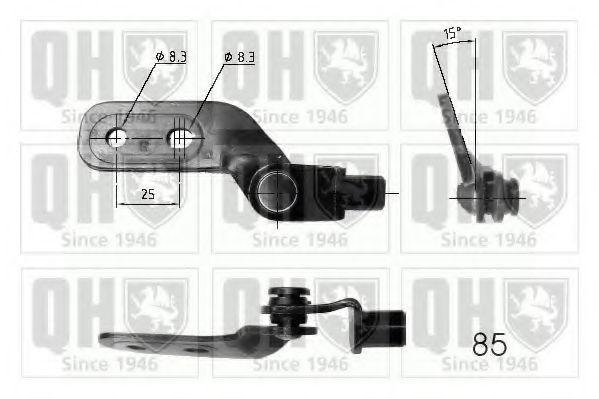 Газовая пружина, крышка багажник QUINTON HAZELL QTS840214