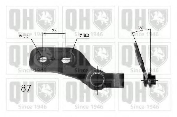Газовая пружина, крышка багажник QUINTON HAZELL QTS840216
