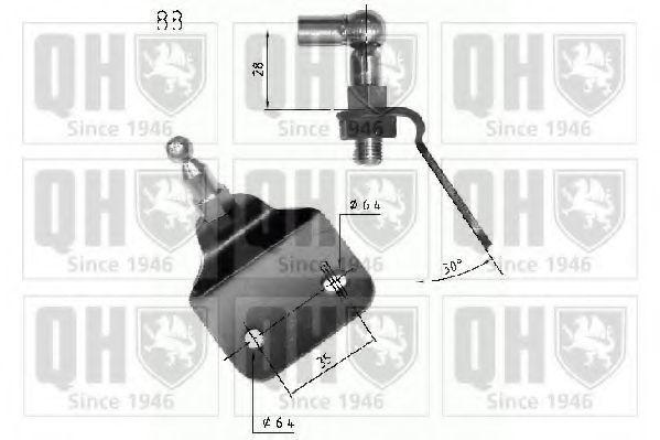 Газовая пружина, крышка багажник QUINTON HAZELL QTS840231