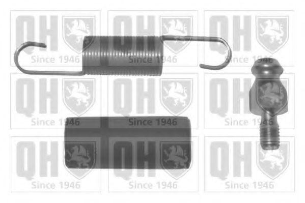 Монтажный комплект, натяжн./паразитн.ролик (зубчатый ремень) QUINTON HAZELL QTT436FK