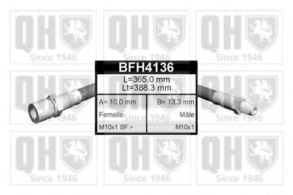 Тормозной шланг QUINTON HAZELL BFH4136
