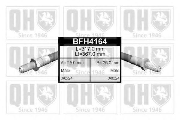 Тормозной шланг QUINTON HAZELL BFH4164