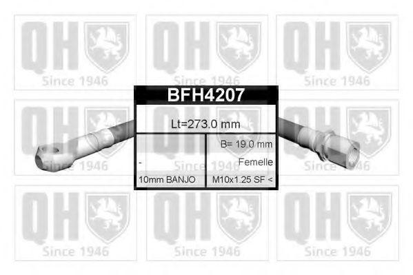 Тормозной шланг QUINTON HAZELL BFH4207