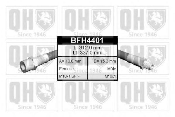 Тормозной шланг QUINTON HAZELL BFH4401