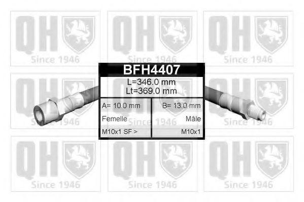 Тормозной шланг QUINTON HAZELL BFH4407