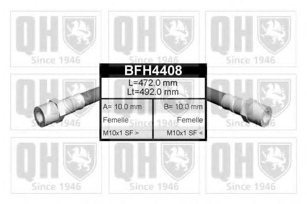 Шланг тормозной QUINTON HAZELL BFH4408
