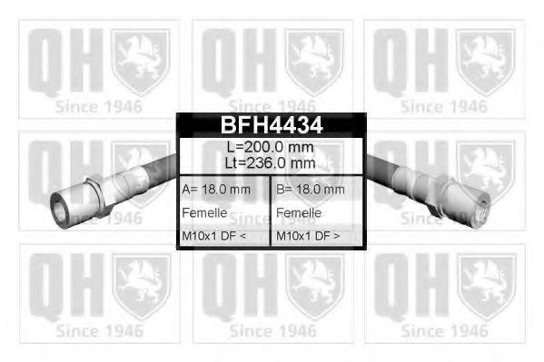 Тормозной шланг QUINTON HAZELL BFH4434