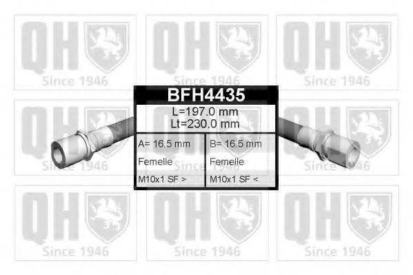 Тормозной шланг QUINTON HAZELL BFH4435