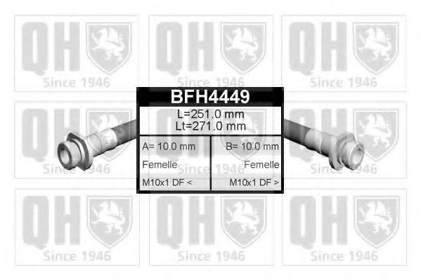 Тормозной шланг QUINTON HAZELL BFH4449