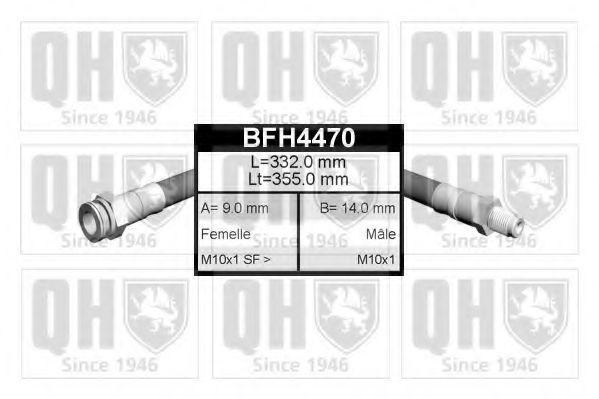 Тормозной шланг QUINTON HAZELL BFH4470