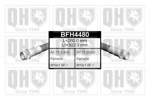 Шланг тормозной QUINTON HAZELL BFH 4480