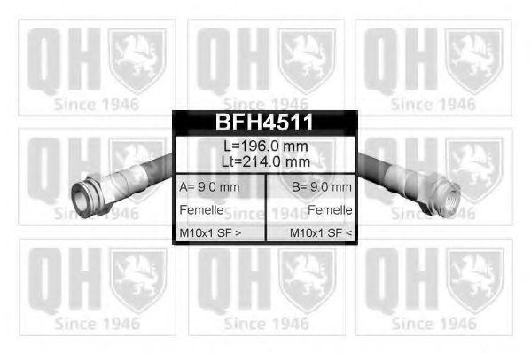 Тормозной шланг QUINTON HAZELL BFH4511