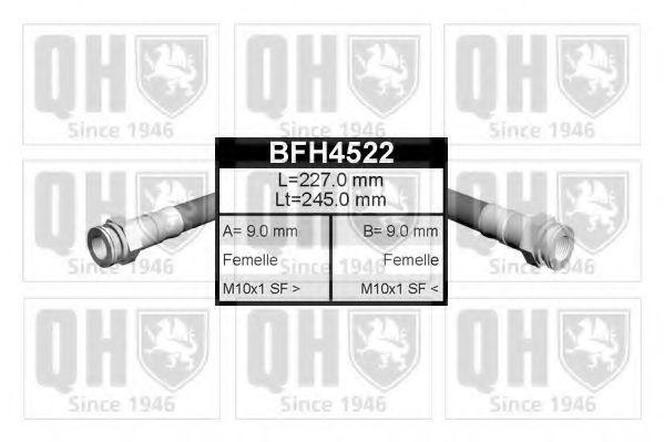 Тормозной шланг QUINTON HAZELL BFH4522