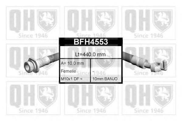 Тормозной шланг QUINTON HAZELL BFH4553