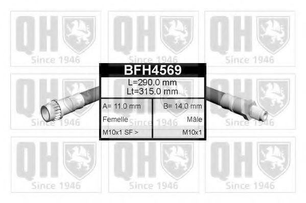 Тормозной шланг QUINTON HAZELL BFH4569