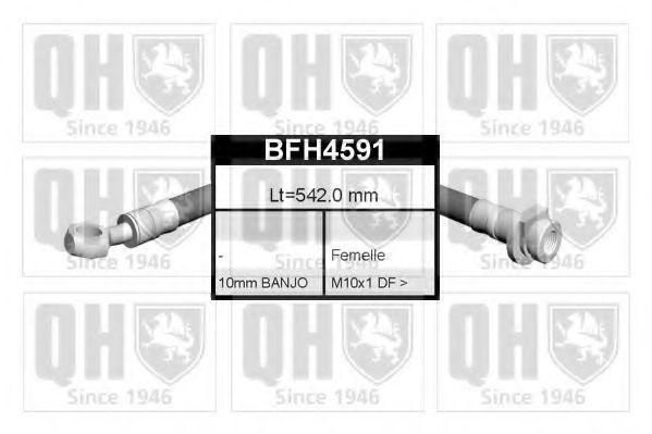 Тормозной шланг QUINTON HAZELL BFH4591