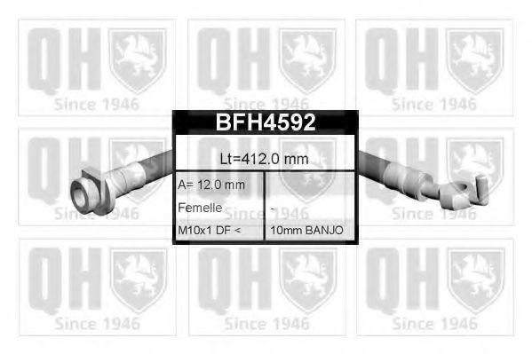 Тормозной шланг QUINTON HAZELL BFH4592