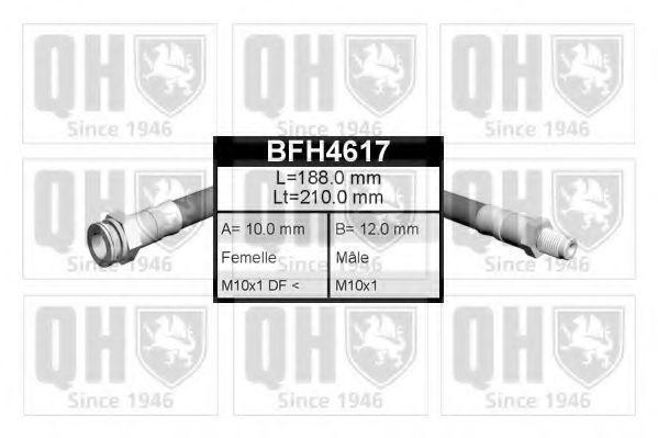 Тормозной шланг QUINTON HAZELL BFH4617
