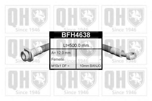Тормозной шланг QUINTON HAZELL BFH4638
