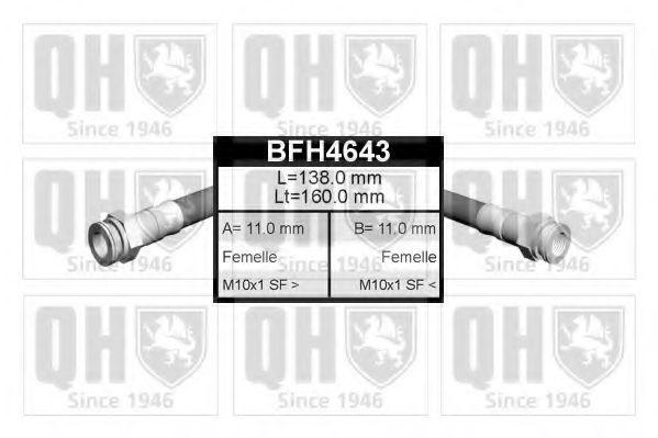 Тормозной шланг QUINTON HAZELL BFH4643