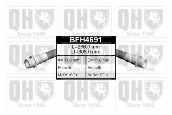Тормозной шланг QUINTON HAZELL BFH4691