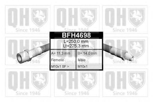 Тормозной шланг QUINTON HAZELL BFH4698