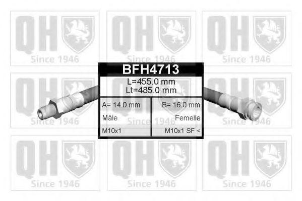 Шланг тормозной QUINTON HAZELL BFH4713