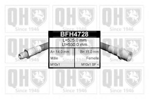 Тормозной шланг QUINTON HAZELL BFH4728