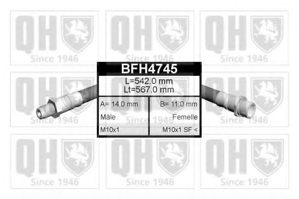 Тормозной шланг QUINTON HAZELL BFH4745