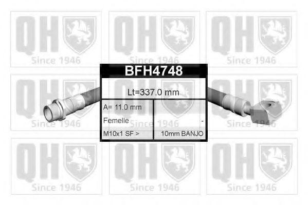 Тормозной шланг QUINTON HAZELL BFH4748