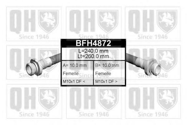 Тормозной шланг QUINTON HAZELL BFH4872
