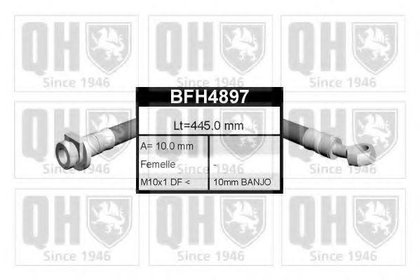 Тормозной шланг QUINTON HAZELL BFH4897