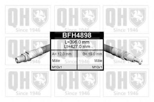 Шланг тормозной QUINTON HAZELL BFH4898