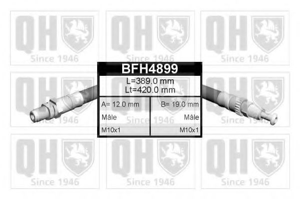 Шланг тормозной QUINTON HAZELL BFH4899