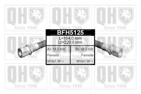 Тормозной шланг QUINTON HAZELL BFH5125