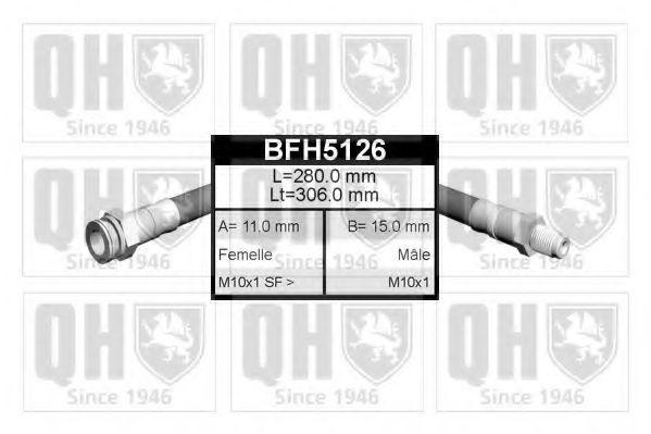 Тормозной шланг QUINTON HAZELL BFH5126
