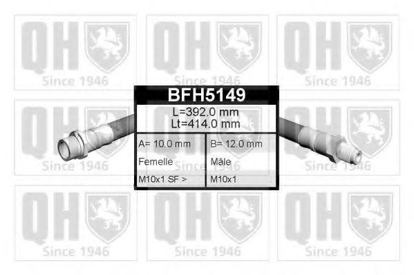 Тормозной шланг QUINTON HAZELL BFH5149