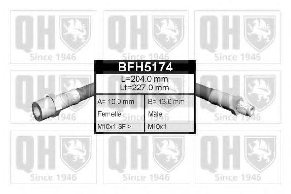 Тормозной шланг QUINTON HAZELL BFH5174