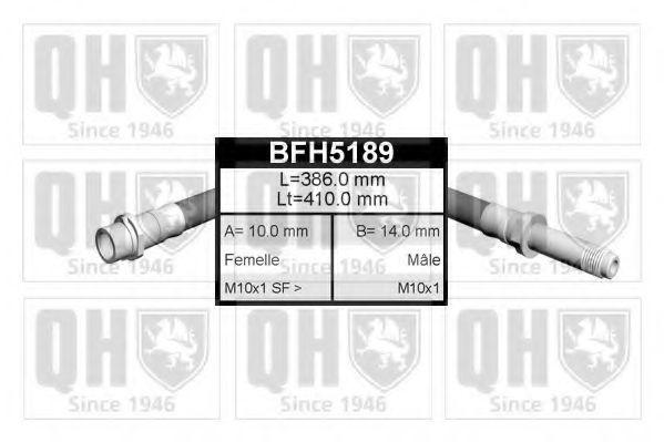 Шланг тормозной QUINTON HAZELL BFH5189