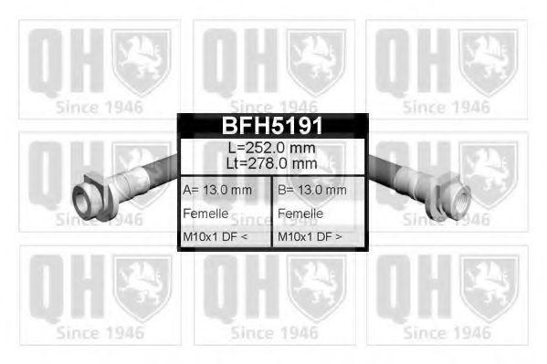 Тормозной шланг QUINTON HAZELL BFH5191