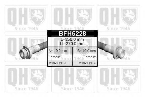 Тормозной шланг QUINTON HAZELL BFH5228