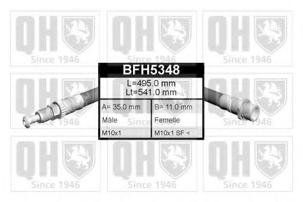 Шланг тормозной QUINTON HAZELL BFH5348