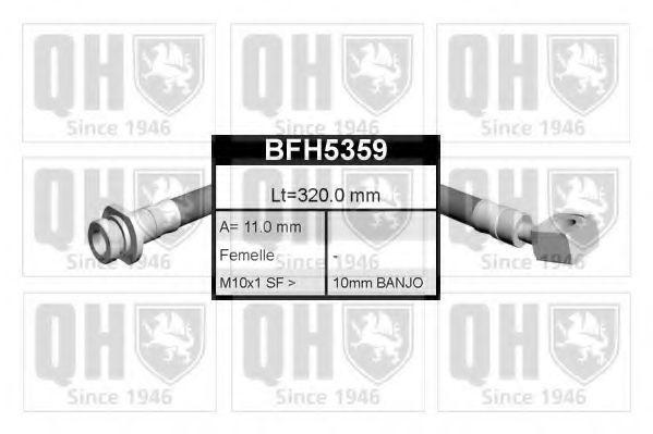 Тормозной шланг QUINTON HAZELL BFH5359