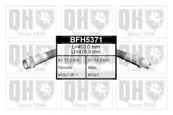 Тормозной шланг QUINTON HAZELL BFH5371