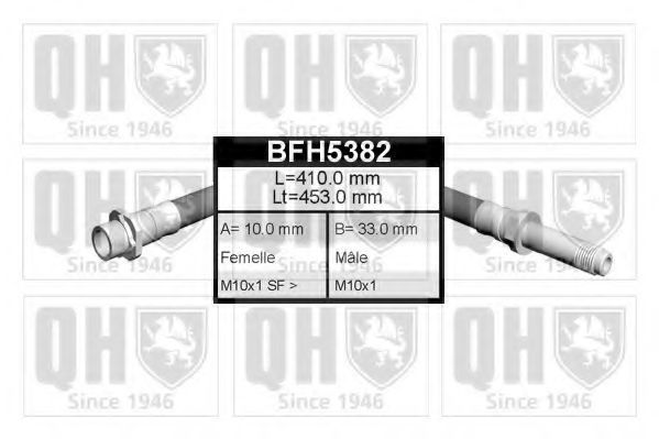 Тормозной шланг QUINTON HAZELL BFH5382