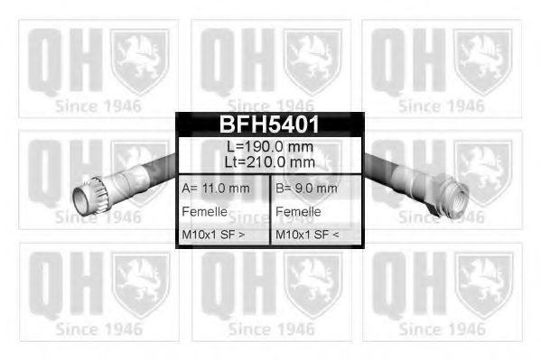 Тормозной шланг QUINTON HAZELL BFH5401
