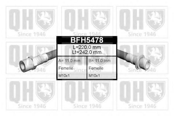Тормозной шланг QUINTON HAZELL BFH5478