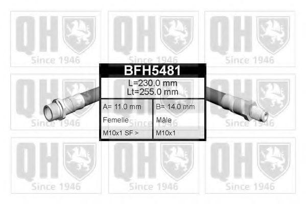 Тормозной шланг QUINTON HAZELL BFH5481